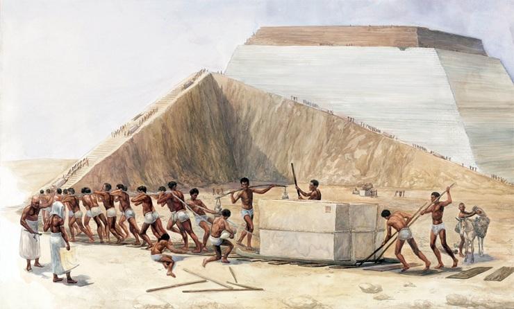 Рабы и пирамиды