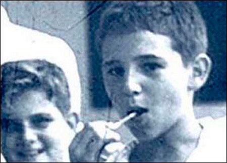 Фидель Кастро в детстве