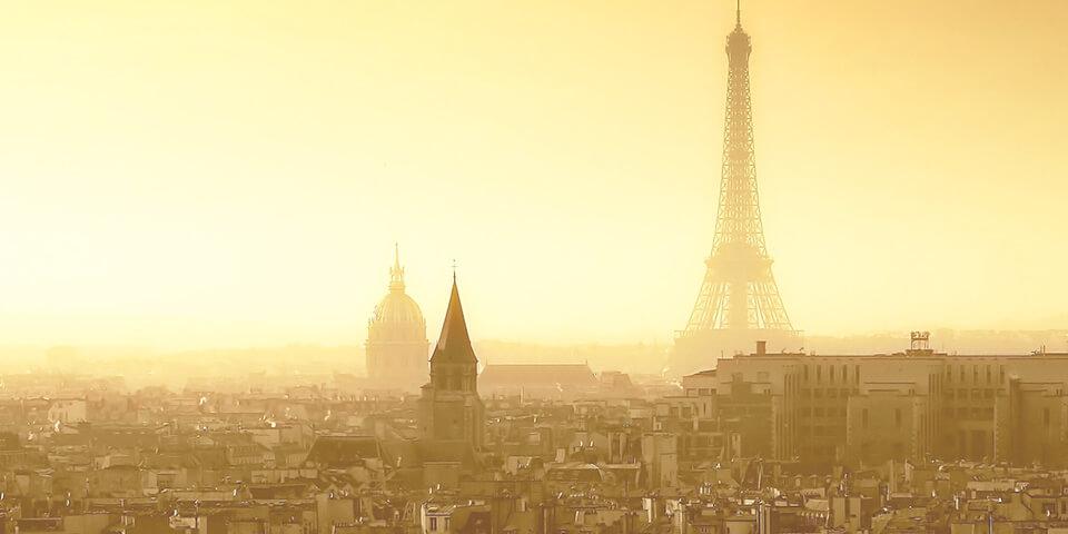 Париж, Франция, Эйфелева башня