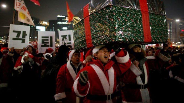 Рождество в Южной Корее