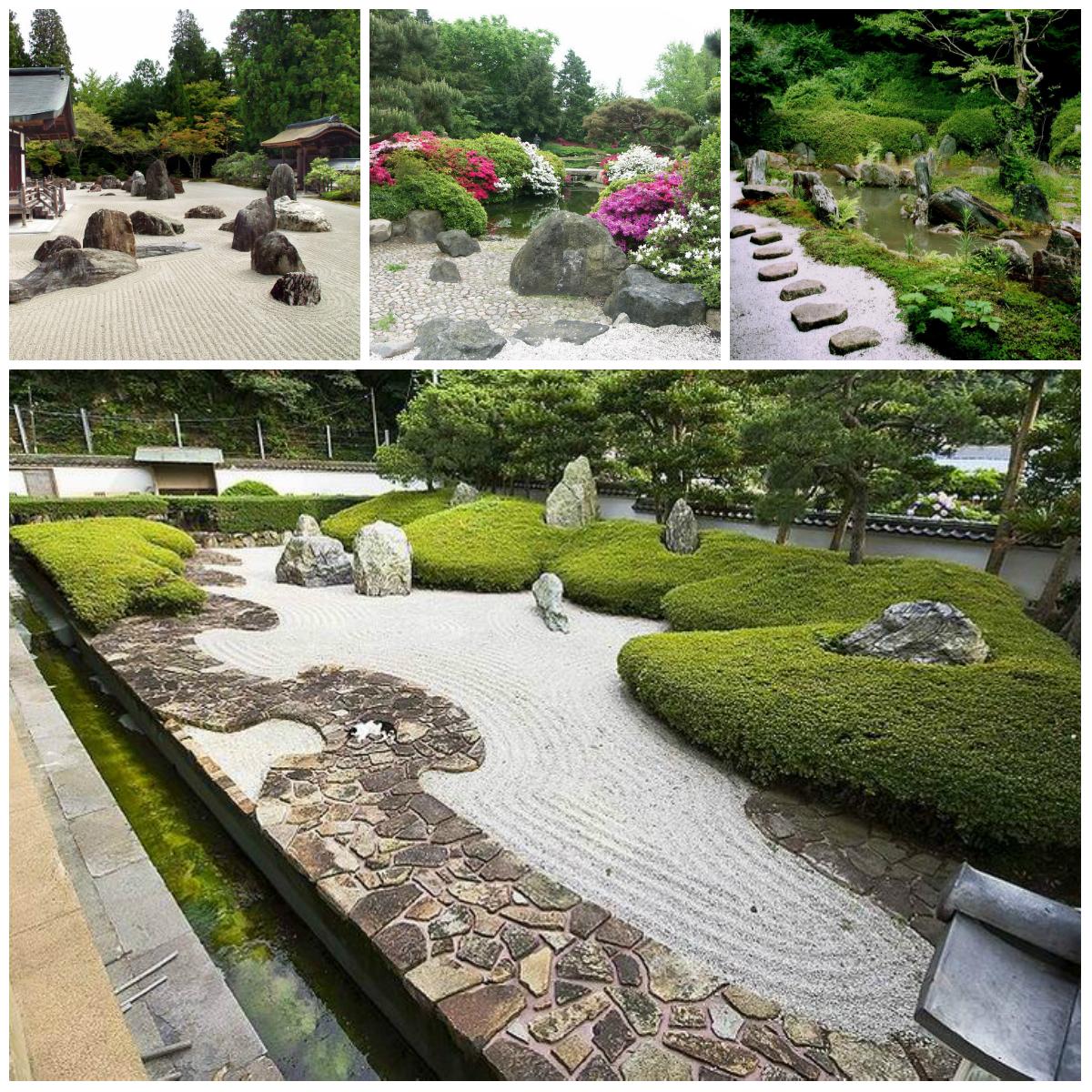 Японский стиль в саду